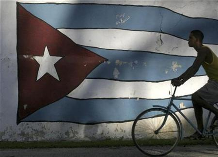 Biking around Cuba